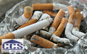 Smoking is still a leading cause of home fires prevention is key CCS Property Services restoration