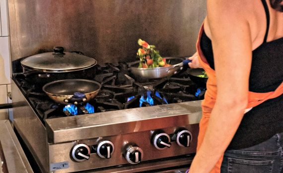 Cooking on a stovetop can cause home fires prevention is key
