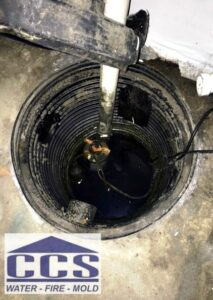 Water Damage Cleanup Northeast Wisconsin - Sump Pump
