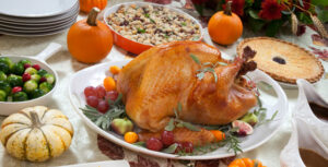 Thanksgiving table setting - a Thanksgiving Fire Safety Tips