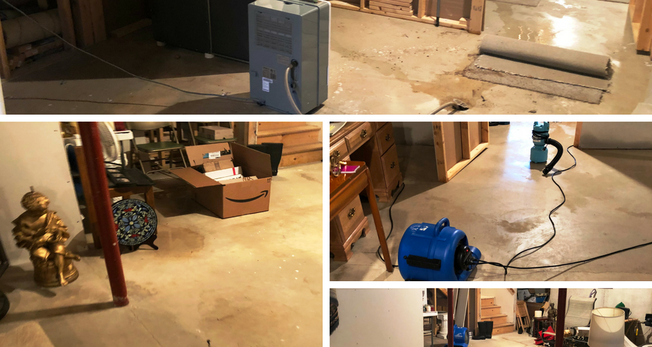 Water Damage and Sewer Backup from Property located in Green Bay Wisconsin
