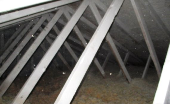 mold encapsulation photo from mold removal job in green bay wisconsin and appleton wisconsin