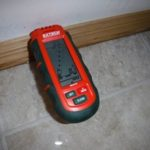 moisture meter testing equipment for flooded basements and homes in northeast wisconsin