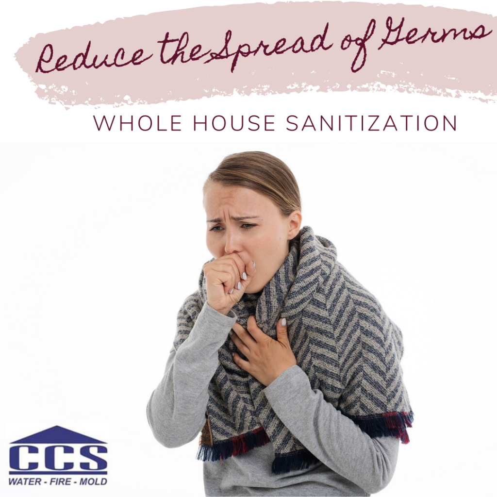 whole house disinfecting by CCS Property Services
